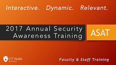 2017 Annual Security Awareness Training