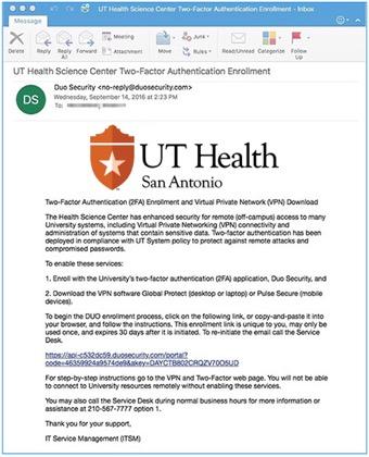 VPN   UT Health San Antonio Information Security
