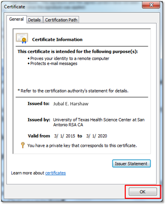 Use your digital certificate with Microsoft Word 2010 | Information ...